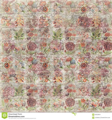 43866 Apricot Blue Retro Pattern S M L Dress Le030817 Import grungy vintage flower botanical wallpaper background