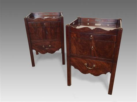 vintage bedside table pair antique bedside tables richard gardner antiques