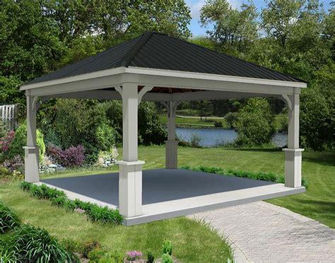 red cedar gable roof open rectangle pavilions pavilions