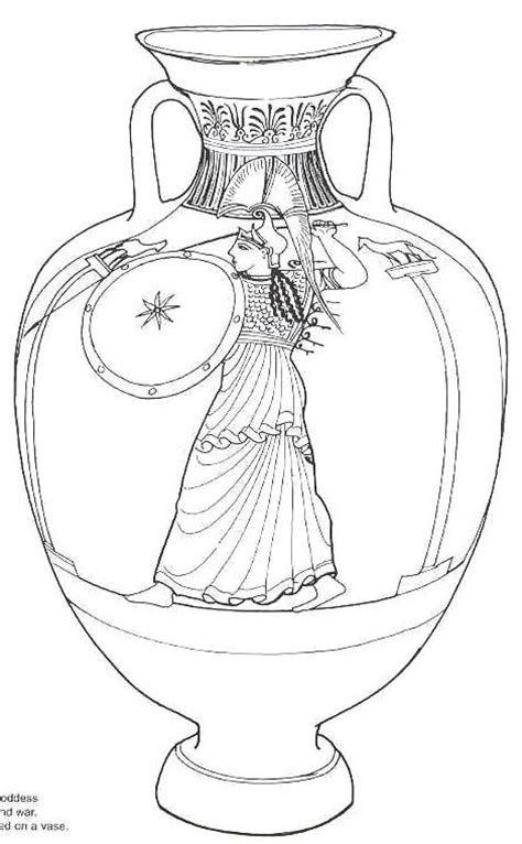 Printable Vase Pattern Best Photos Of Vase Pattern Color Page Flower Vase