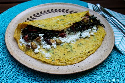 Cottage Cheese Omelette by Omelet Met Snijbiet Walnoten En Cottage Cheese It S A