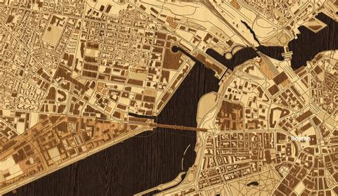 woodcut map boston by mapbox via flickr art pinterest boston interactive map and maps