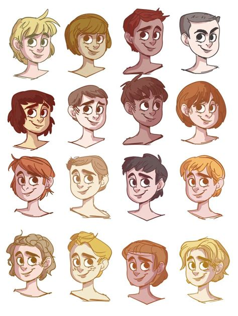 cartoon hairstyles male 17 best images about artsy tutorials 2 on pinterest