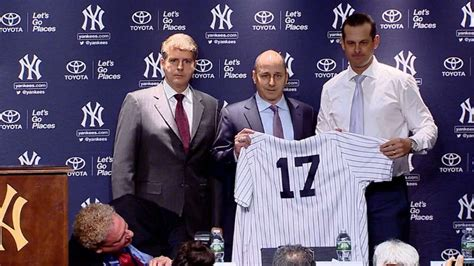 aaron boone video yankees officially introduce aaron boone as manager youtube