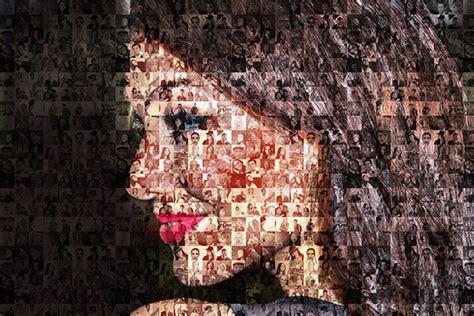 cara membuat kolase mozaik efek mozaik photoshop pinasthika artista