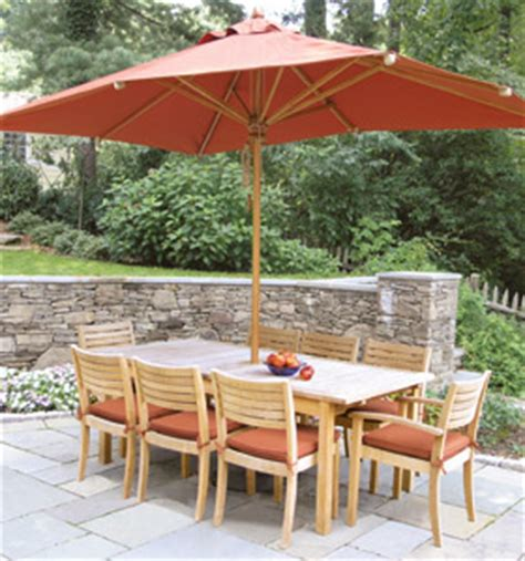 Garden Table And Chairs With Umbrella At Set 20 Teak Outdoor Tropical Dining Stacking Set Table