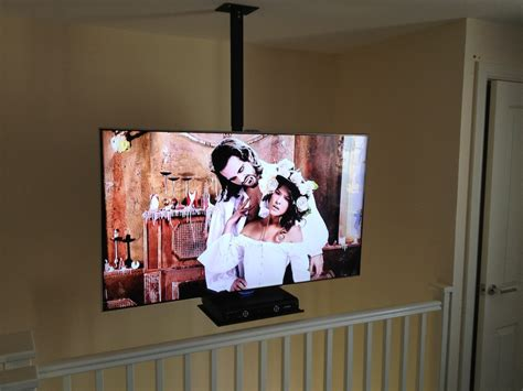 Tv Hanging From Ceiling by Aerials And More Tv Wall Hanging Tv Wall Mounting Lcd