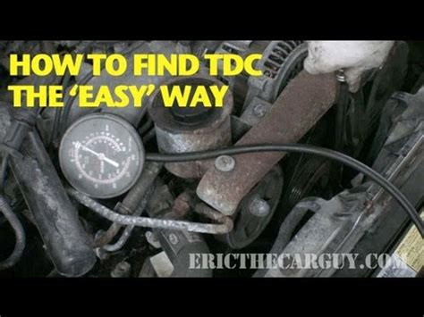 how to find tdc the 'easy' way  ericthecarguy youtube