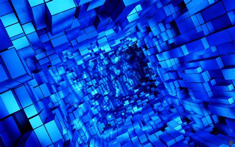 wallpaper blue cube 3d cube wallpapers wallpaper cave
