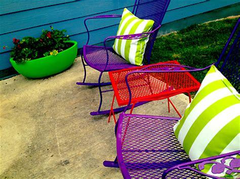 colorful patio chairs inspiration pixelmari