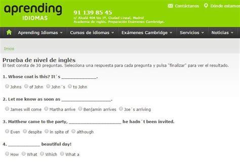 test inglese b1 gratis el constructor ama a su casa prueba de nivel de ingles b2