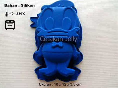 Cetakan Slikon Kue Puding Big Dino cetakan silikon puding kue donald cetakan jelly cetakan jelly