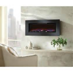 Home Decorator Catalog Home Decorators Collection Mirador 46 In Wall Mount Electric Fireplace In Black