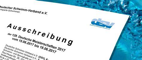 Bewerbung Dm Berlin Ausschreibung F 252 R Schwimm Dm 2017 In Berlin 23
