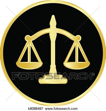 clip art of justice scales k8088487 search clipart