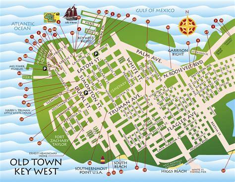florida key west map maps key west florida key west florida