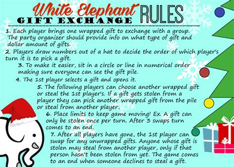 printable numbers for gift exchange white elephant gift exchange printable bing