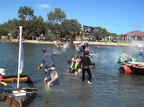 competitors take to the water in south yunderup s annual - Boat R Yunderup