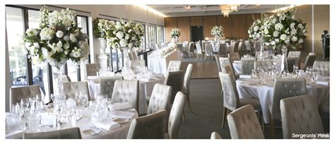 wedding ceremony venues inner west sydney sergeants mess dining room wedding venue hire