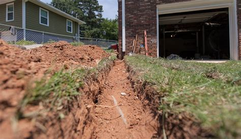grading backyard drainage drainage solutions in atlanta yard grading