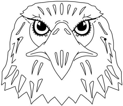 Bald Eagle Coloring Pictures - Coloring Home Eagle Coloring Pages Free