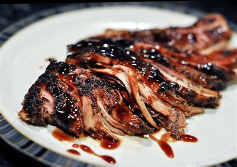 crock pot brown sugar and balsamic glazed pork loin from