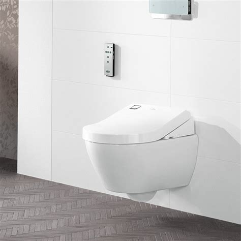 bidet und wc set villeroy boch viclean u shower toilet tooaleta