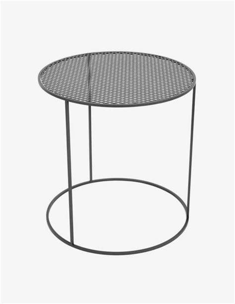 Table Basse Ronde En Acier by Table Basse Ronde En Acier Celestyne Origine Metal