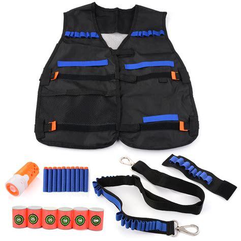 Nerf Vest elite tactical vest foam darts reload clip storage