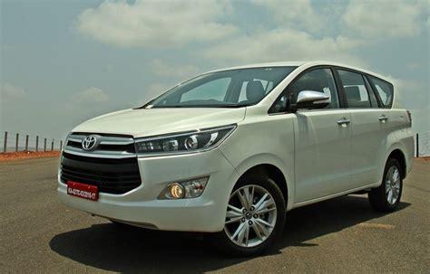 On Road Price Toyota Innova Toyota Innova Crysta Price Engine Specifications Motor