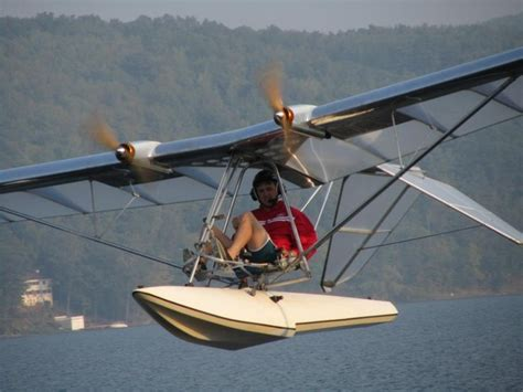 flying boat homebuilt electric hibious lazair perfect airplane for