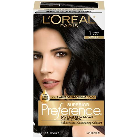 l oreal hair color l or 233 al superior preference permanent hair color 1
