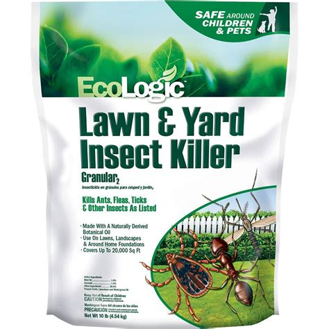backyard fly control ecologic 10 lb lawn and yard insect killer granular hg
