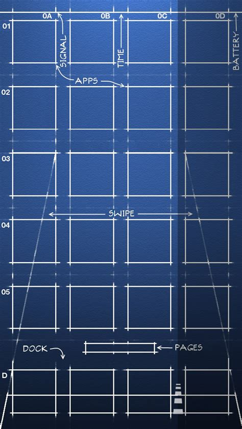 Iphone Blueprint Wallpaper Ios 7 | iphone 5 s ios 7 blueprint wallpaper 640x1136 by