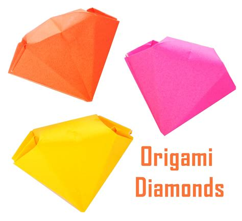 origami diamonds zakka how to fold origami diamonds