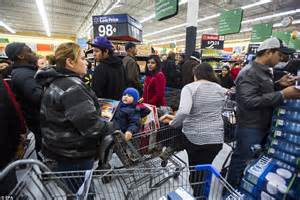 line outside of target black friday brawls and arrests on gray thursday overshadow quiet