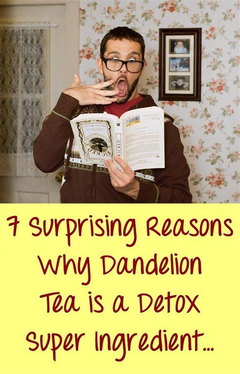 Resons To Detox Your With Dandelion by 70 Best Images About Diente De On