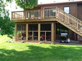 a great screened in porch the deck decks