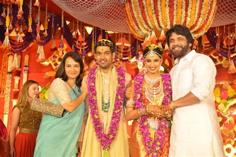 actress amala and nagarjuna wedding photos picture 1079658 amala nagarjuna nimmagadda prasad