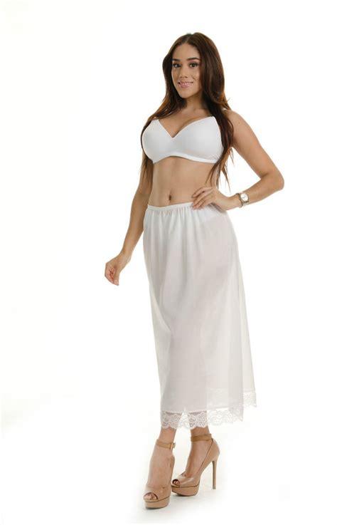 Nessia Itahar White Size 38 half slip 30 quot length size 36 38 40 42 44 white made in mexico by vandiora ebay