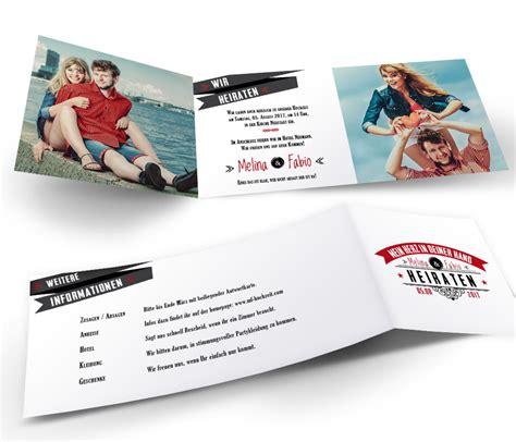 Hochzeitseinladung Deckblatt by Originelle Spr 252 Che F 252 R Hochzeitskarten Ideen F 252 R Einladungen