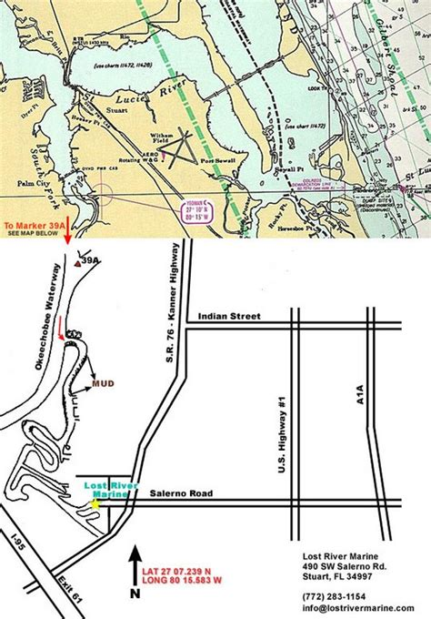 map customizer map to custom stuart florida boatyard