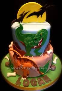 t rex cake template coolest dino mite dinosaur birthday cake