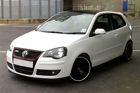 volkswagen polo white modified polo 9n3 modified google search vdubs pinterest