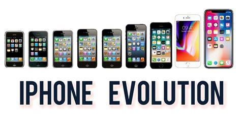 apple iphone evolution 2007 2017 18 1st generation iphone to iphone x