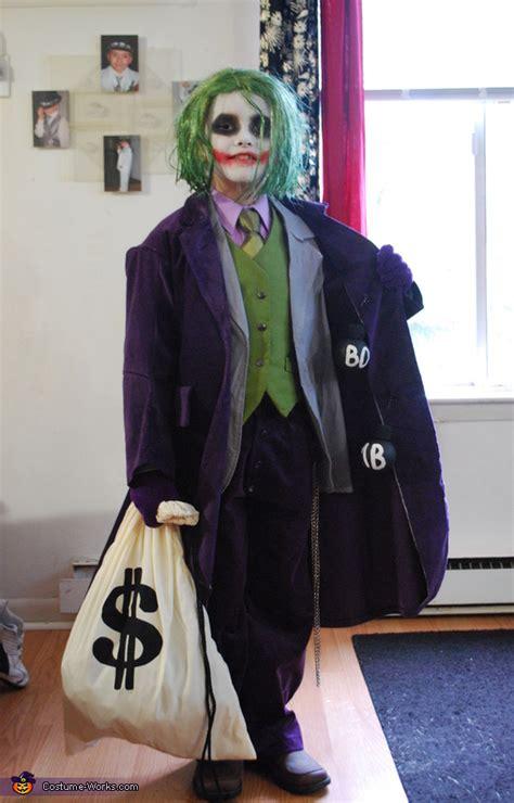 joker costume idea  boys photo
