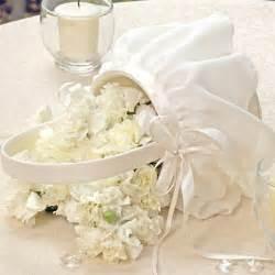 Wedding Favor Baskets by Chiffon Flower Basket Flower Baskets