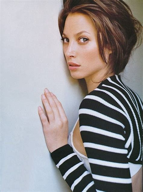 kristy turligton short hair picture of christy turlington