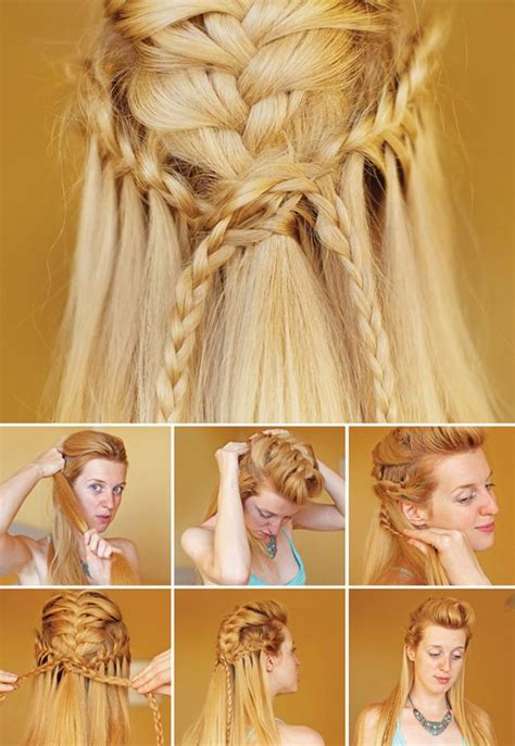 how to do viking braids viking braids tutorial feel like a shieldmaiden