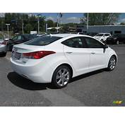2013 Hyundai Elantra Limited In Shimmering White Photo 7
